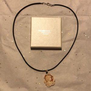 Cellini Gallery Cameos & Corals necklace Italy